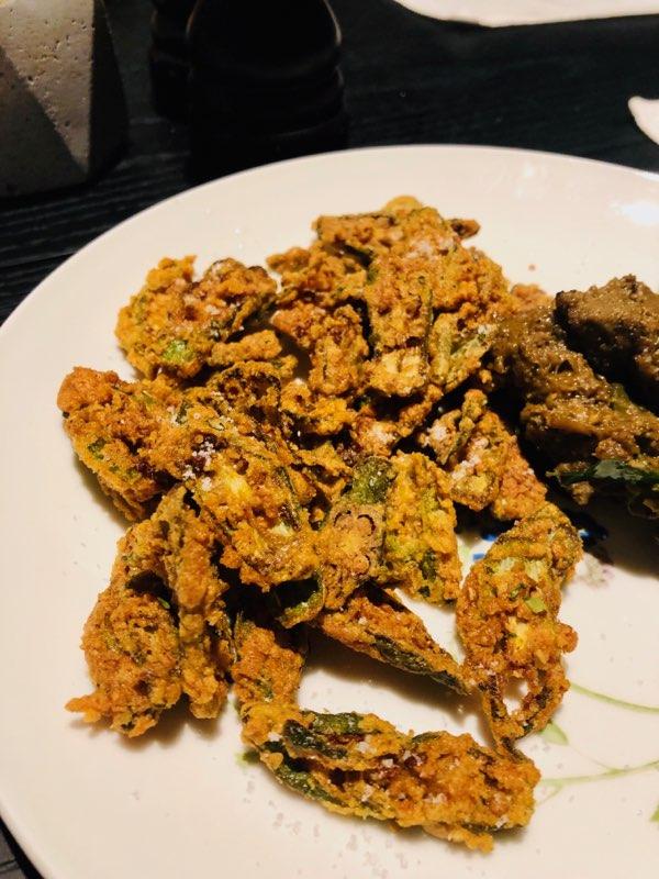 A photo of Kerala style fried okra