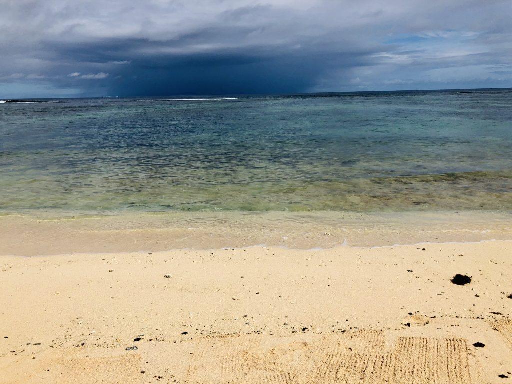 A photo of the beach in Nuku'alofa.