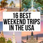 USA Weekend Trips 1 Pin