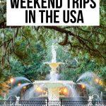 USA Weekend Trips 3 Pin