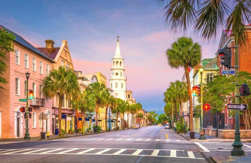 One of the best USA weekend getaways is Charleston, South Carolina.