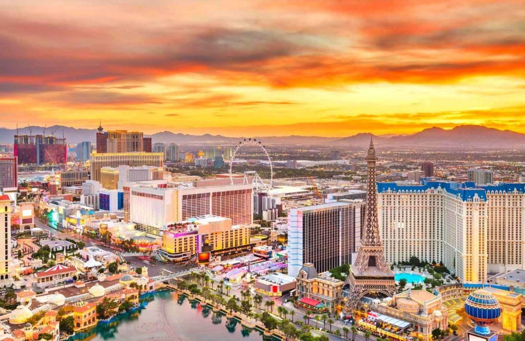 One of the most popular USA weekend trips is Las Vegas.