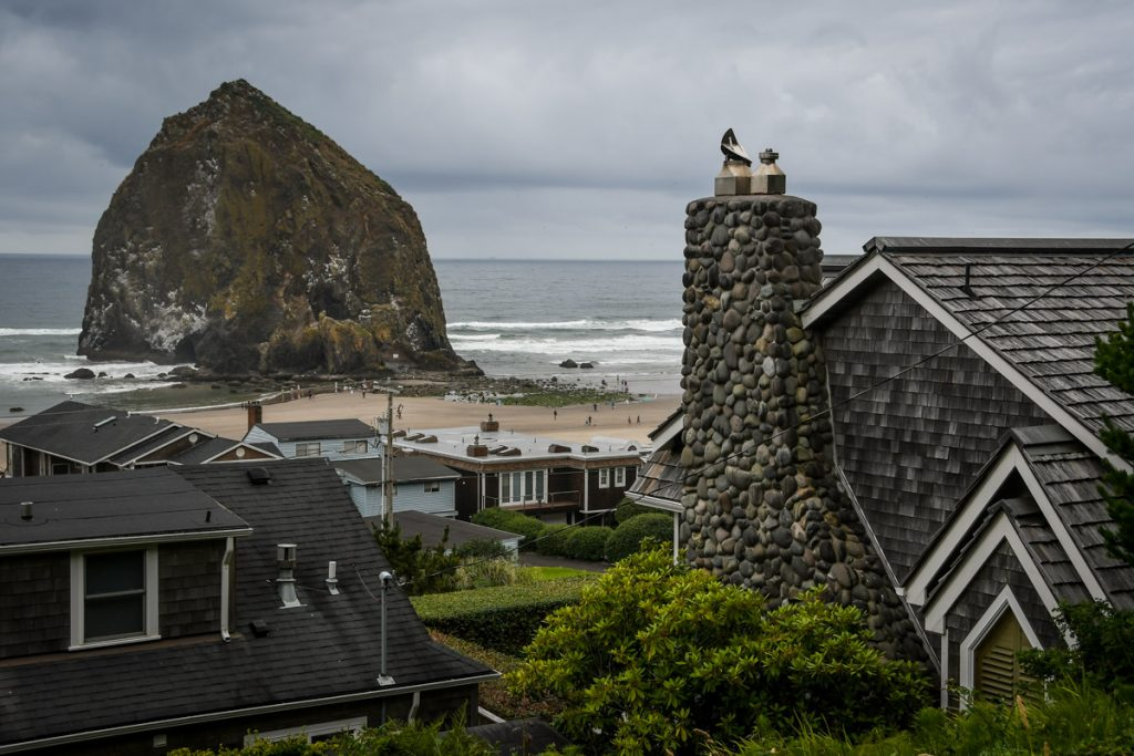 One of the most unique places to visit in Oregon is Cannon Beach.