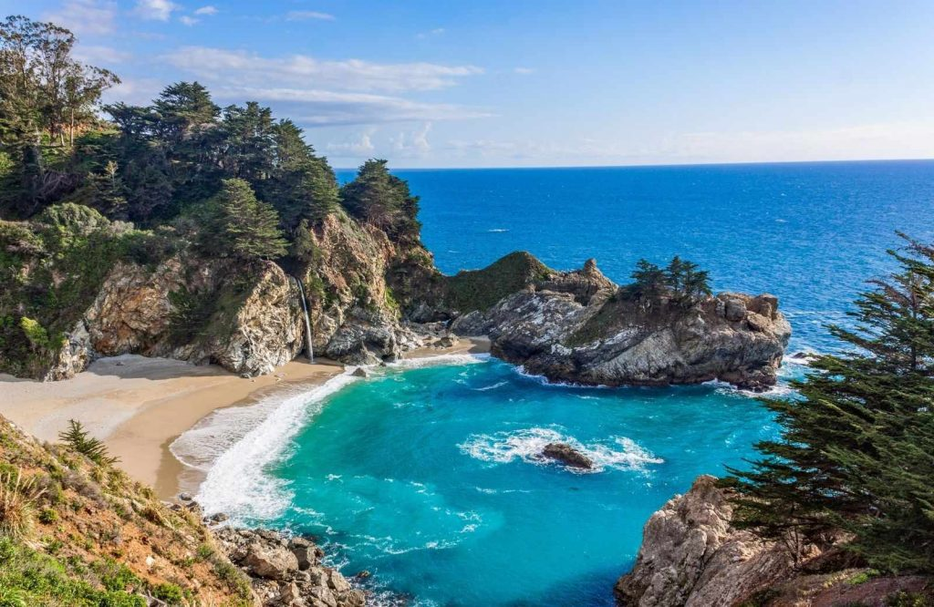 One of the best getaways on the West Coast is Big Sur.