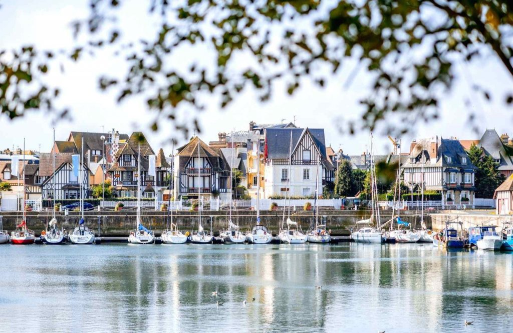 Deauville definitely belongs on the list of the best beach towns in France.