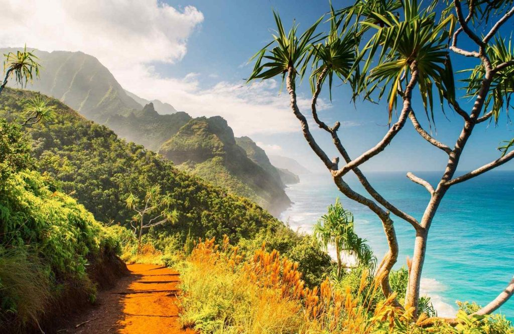 A place that belongs on your USA bucket list is Kalalau Trail.