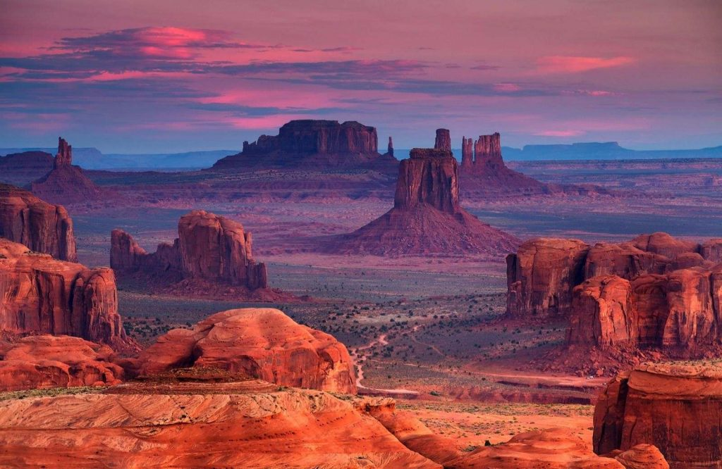 Be sure to stop at Monument Valley on your Southwest USA road trip.