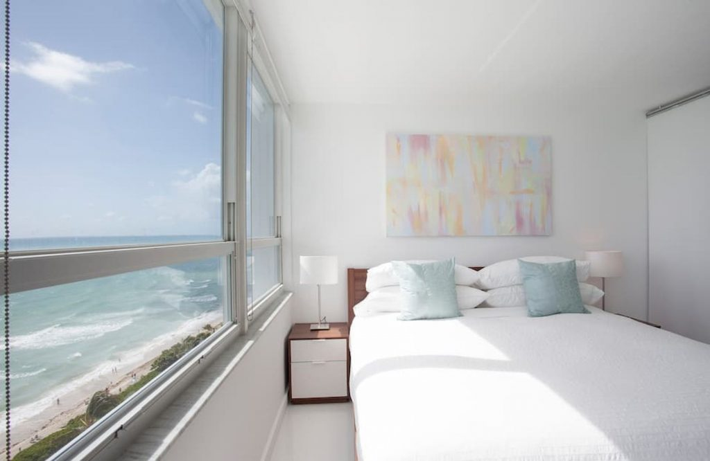 If you're looking for the best Airbnbs in Miami, check out this oceanfront apartment.