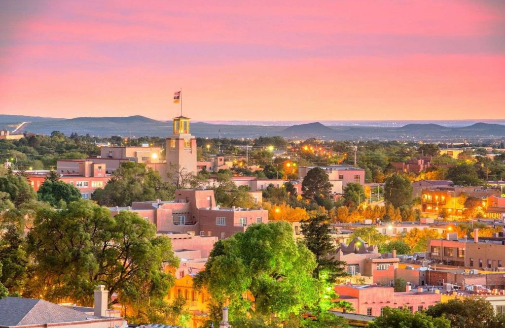 An interesting place to stop on your Southwest USA road trip is Santa Fe.
