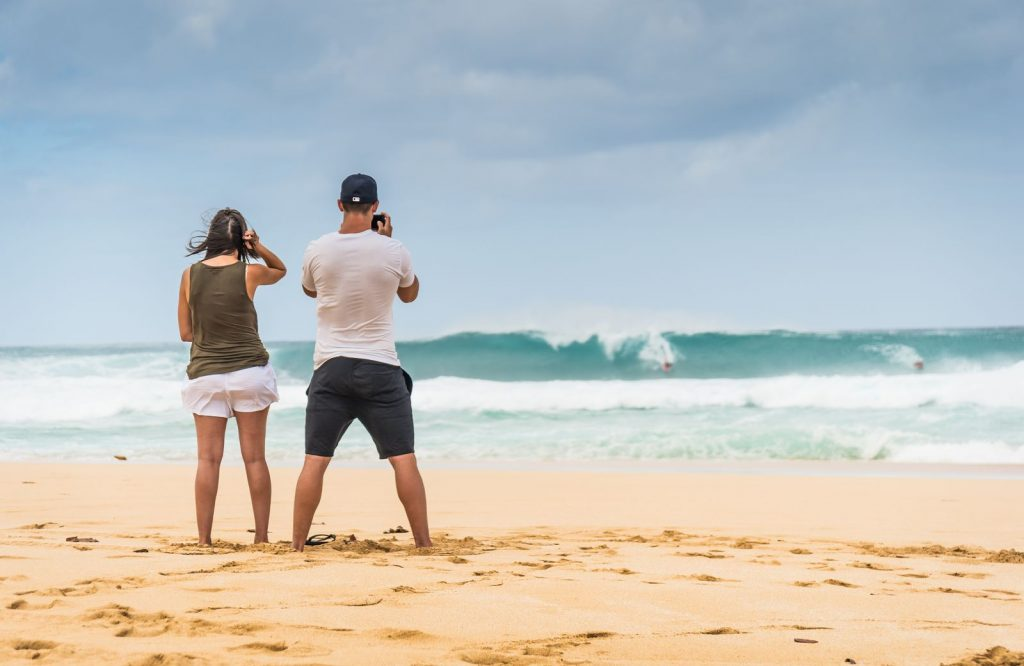 If you're on the hunt for the best beaches in the USA, explore the Banzai Pipeline.