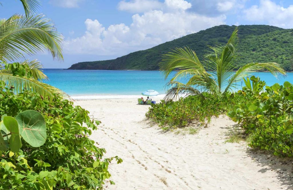 Flamenco Beach is one of the prettiest and best beaches in the USA.
