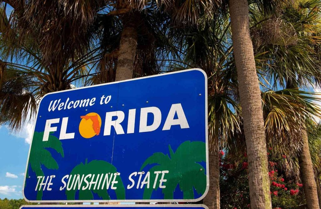 You can road trip or fly to begin your Florida road trip.
