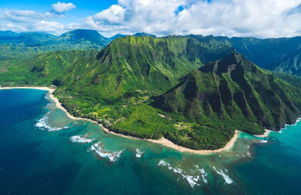 Kalalau Beach is one of the best beaches in the USA.