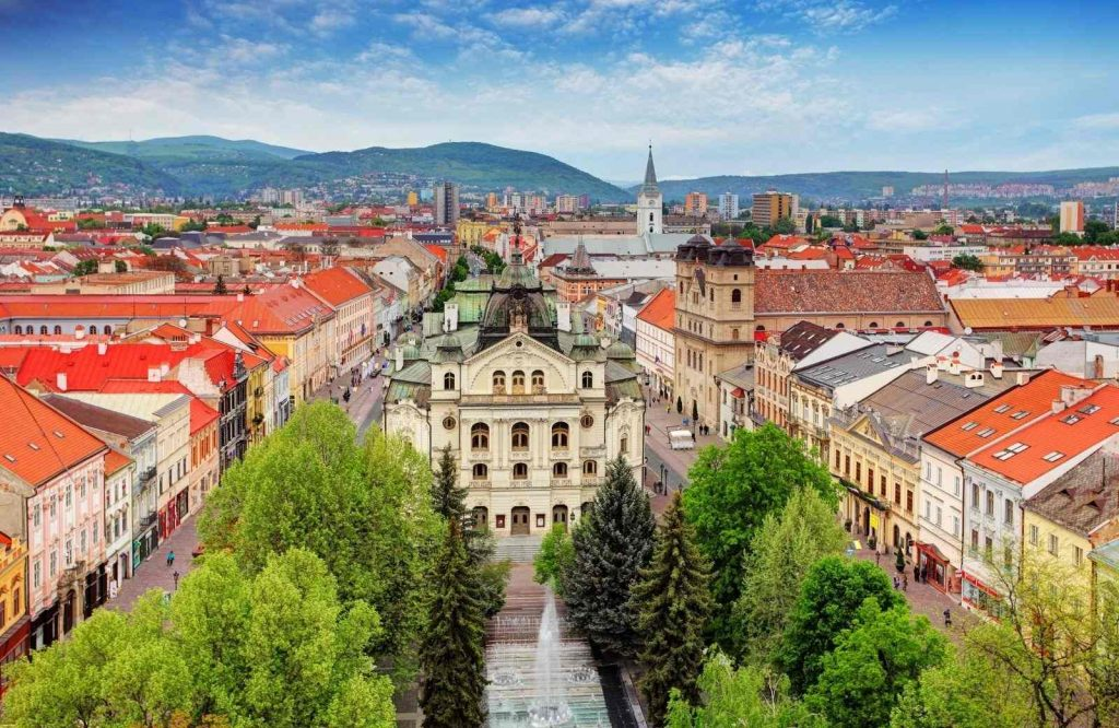 One of many underrated cities in Europe include Kosice.