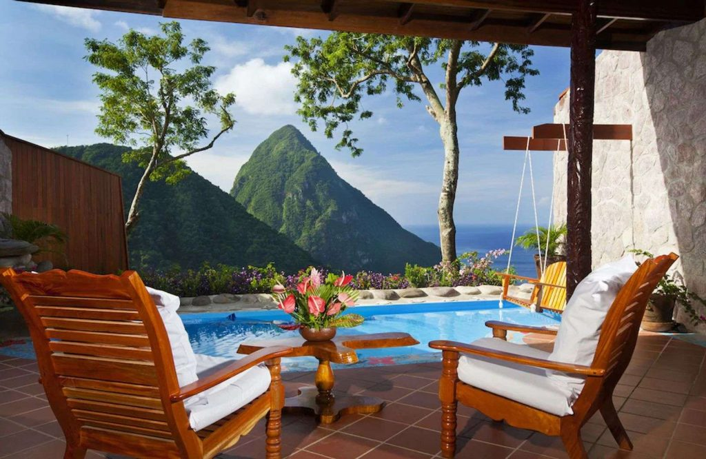 Ladera Resort is one of many amazing places to stay at on your St. Lucia honeymoon.