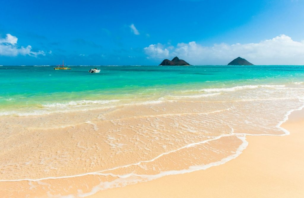 Lanikai Beach is one of the best beaches in the USA.