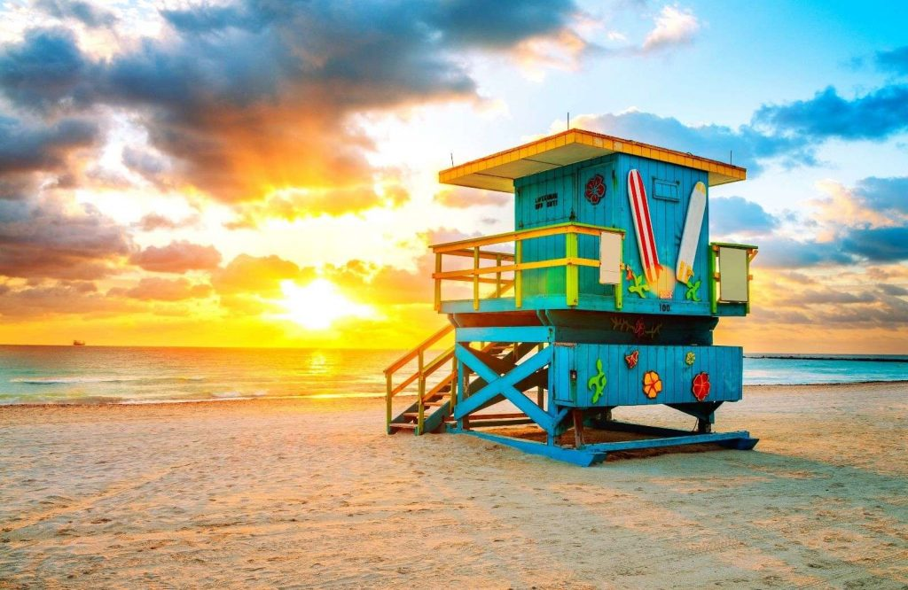 A must stop on your Miami to Key West road trip is Miami Beach.