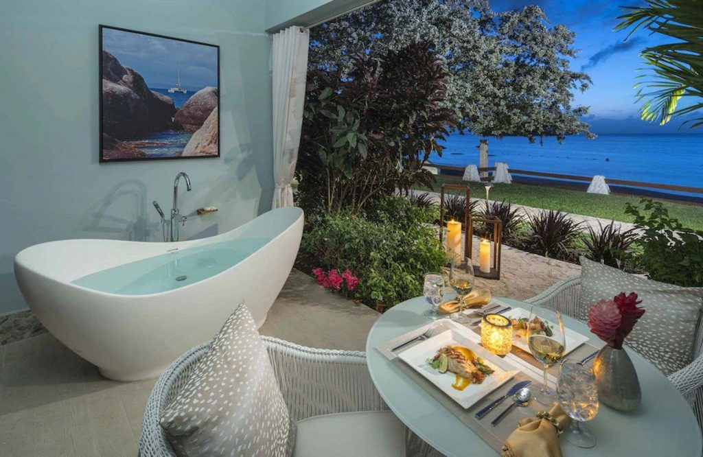 Sandals Halcyon is a great place to stay on your St. Lucia honeymoon.