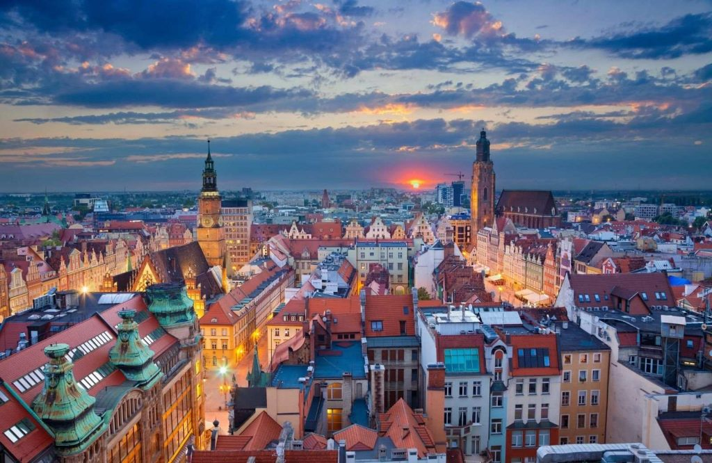 Another one of the most underrated cities in Europe is Wroclaw.