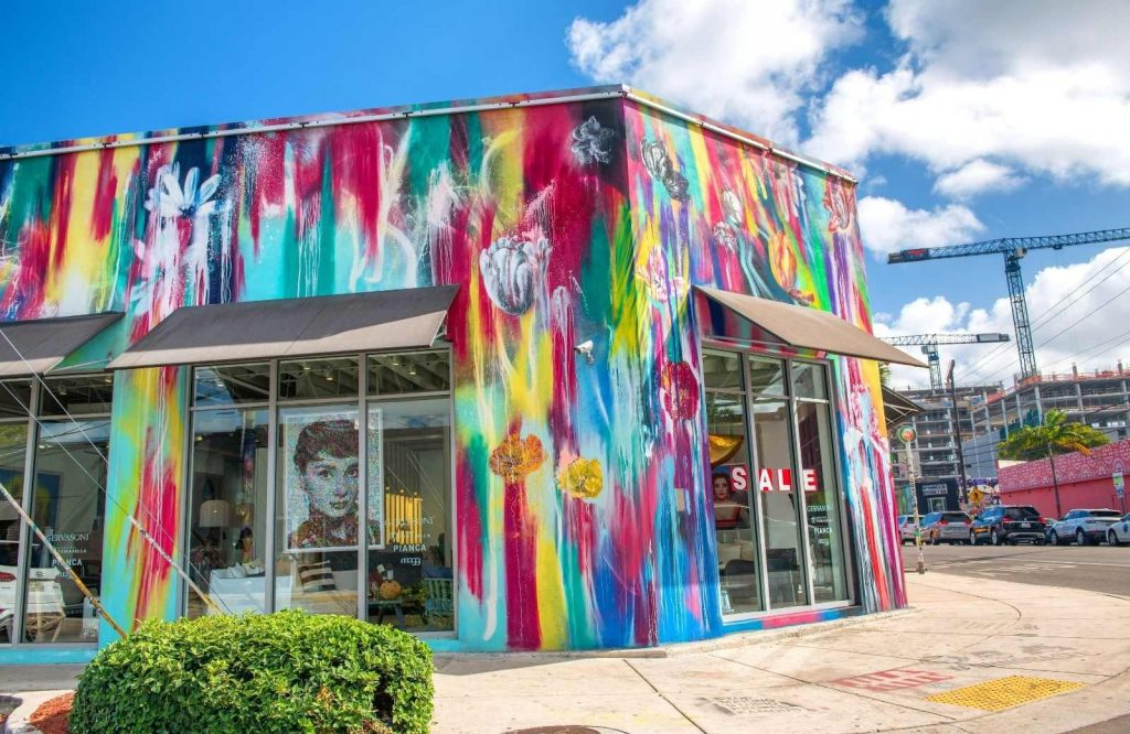 An interesting stop on your Miami to Key West drive is Wynwood Arts District in Miami.