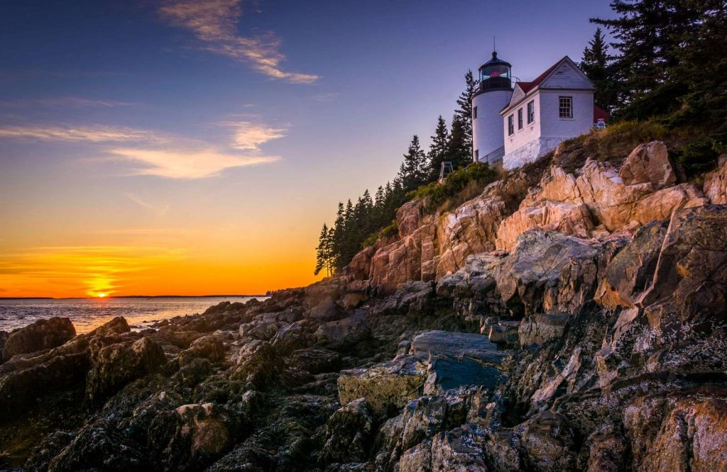 Acadia National Park is one of many national parks on the East Coast.