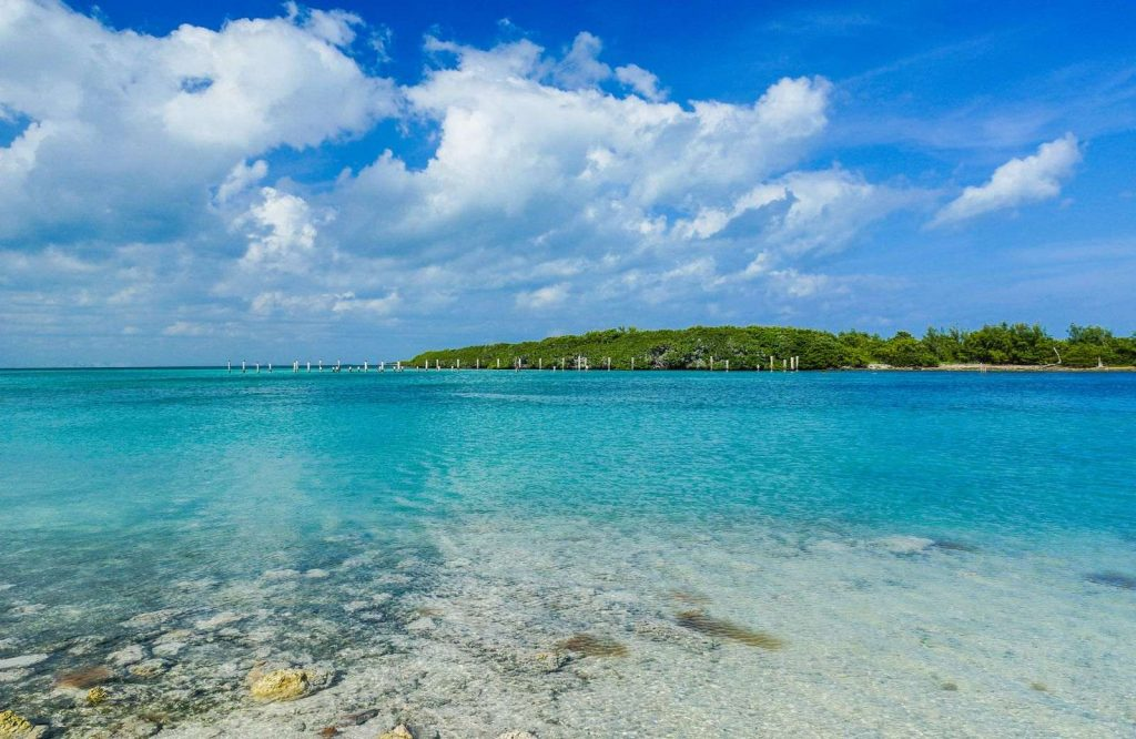 Located in Florida, Biscayne National Park is one of many stunning national parks on the East Coast.