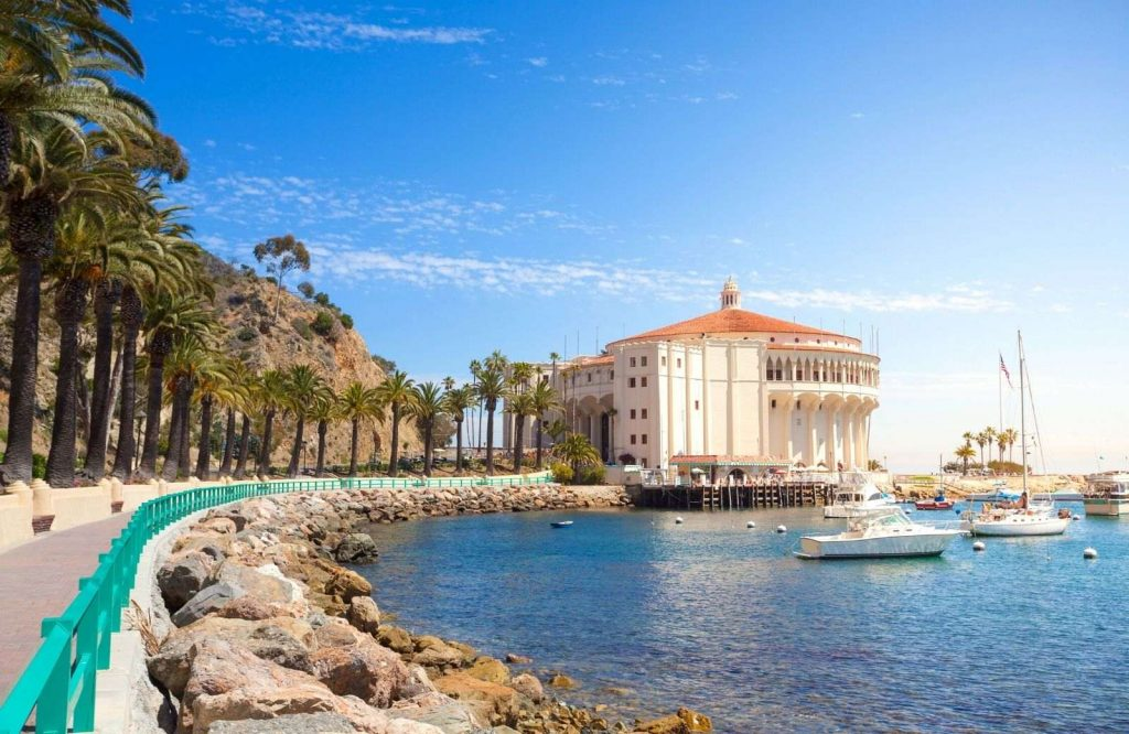 Catalina Island is one of the most posh islands in the USA.
