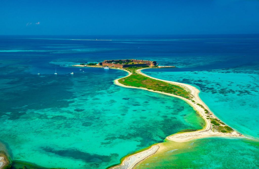 If you're looking for gorgeous national parks to visit on the East Coast, check out Dry Tortugas National Park.
