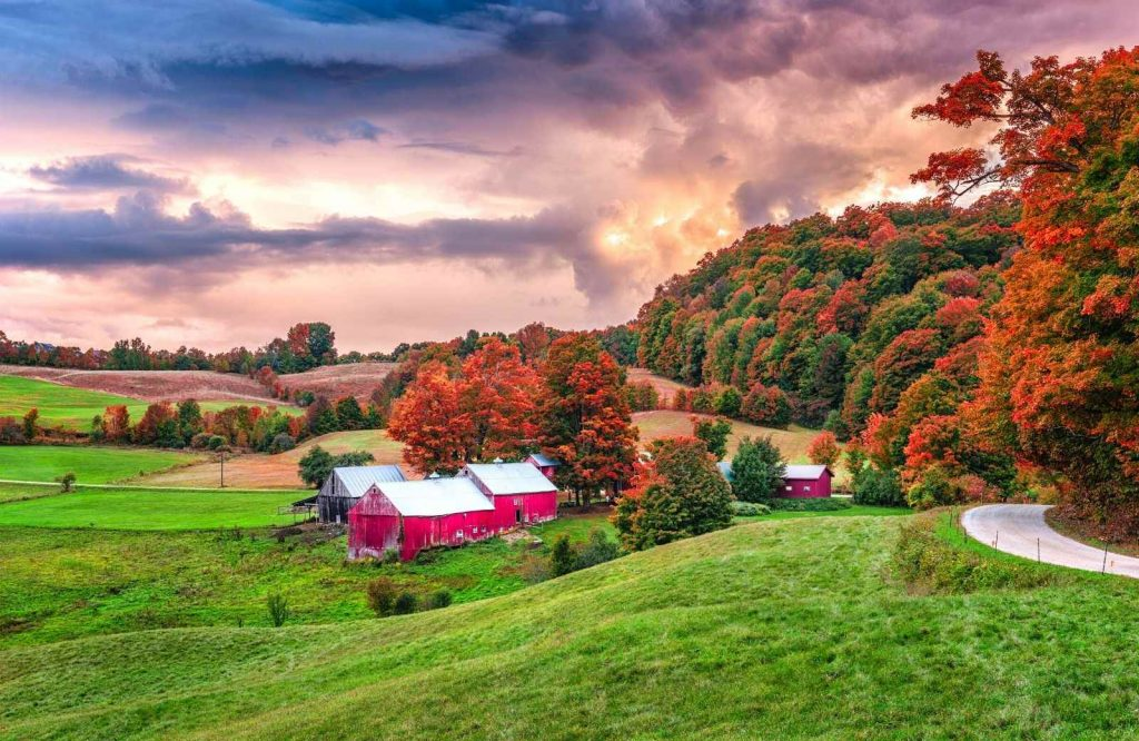 A Vermont road trip is definitely bucket list worthy.