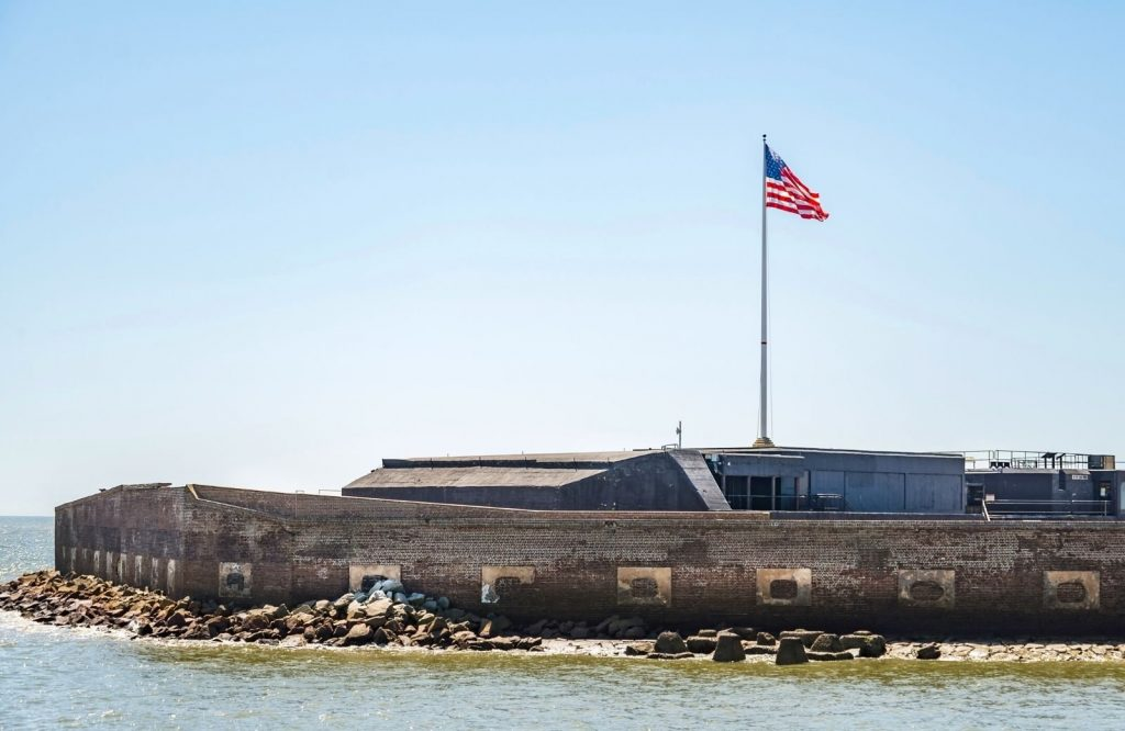 A weekend in Charleston isn't complete without a visit to Fort Sumter.