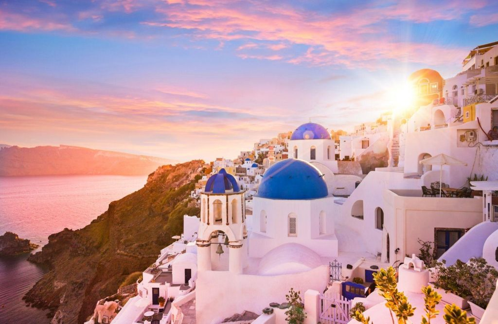 One of the prettiest and cheapest places to visit in Europe is Greece.