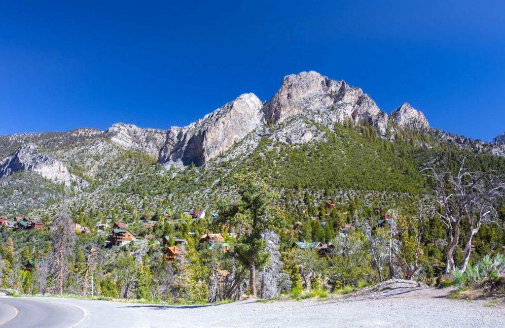 Mount Charleston is one several fun day trips from Las Vegas.