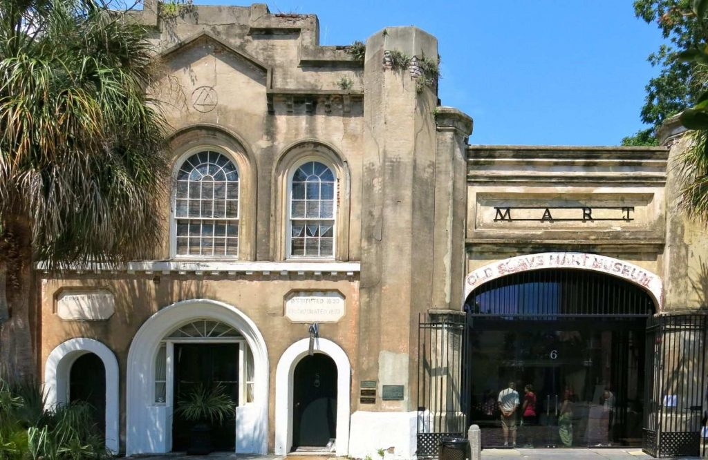If you want to learn more about history during your weekend in Charleston, stop by the Old Slave Mart Museum.
