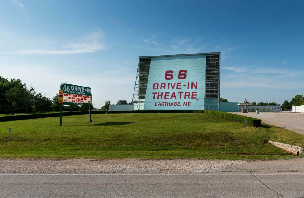 66 Drive-In Theater is one of many interesting Route 66 attractions.