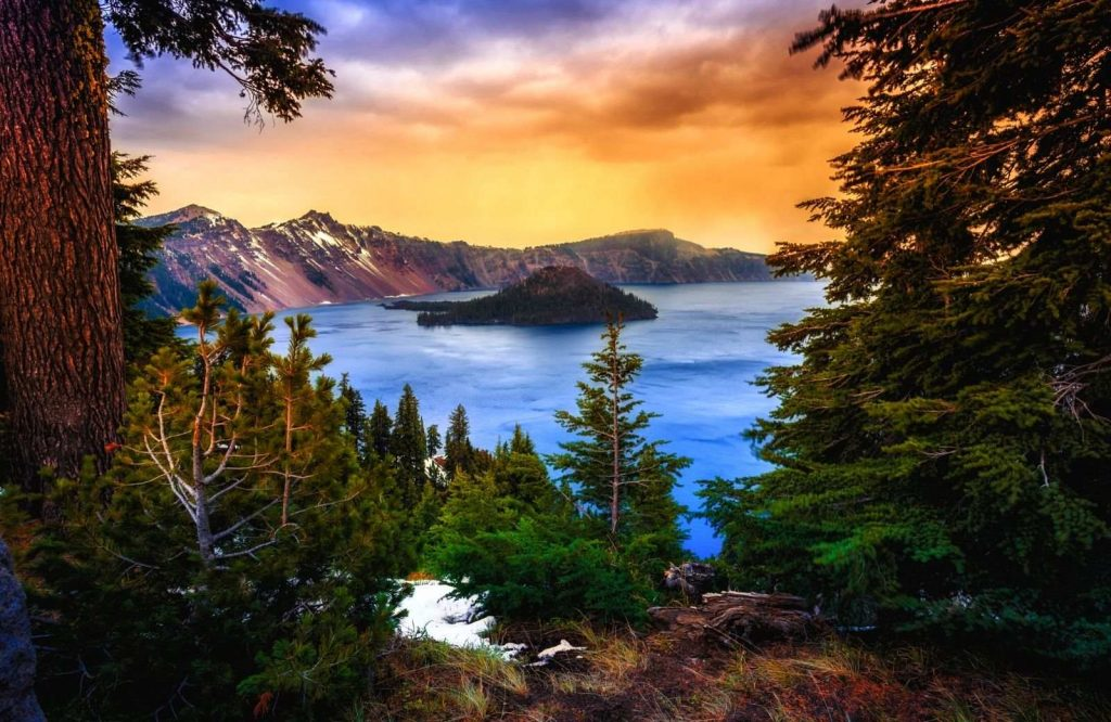 Add Crater Lake National Park to your national parks on the West Coast list.