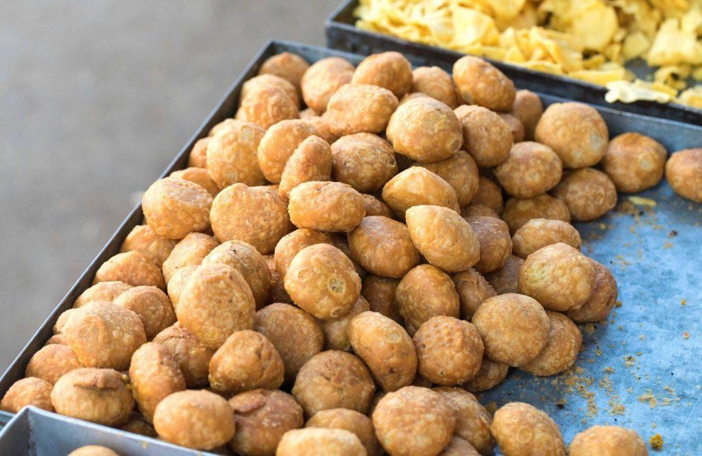 Indian street food dishes consist of Kachoris.
