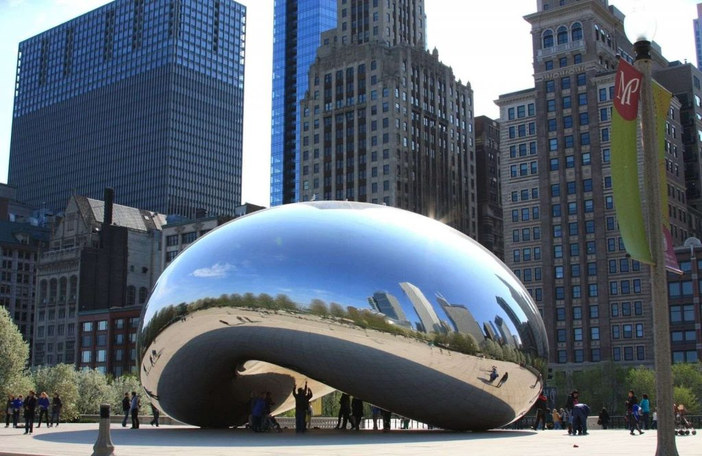 Millennium Park is one of the best Route 66 attractions.