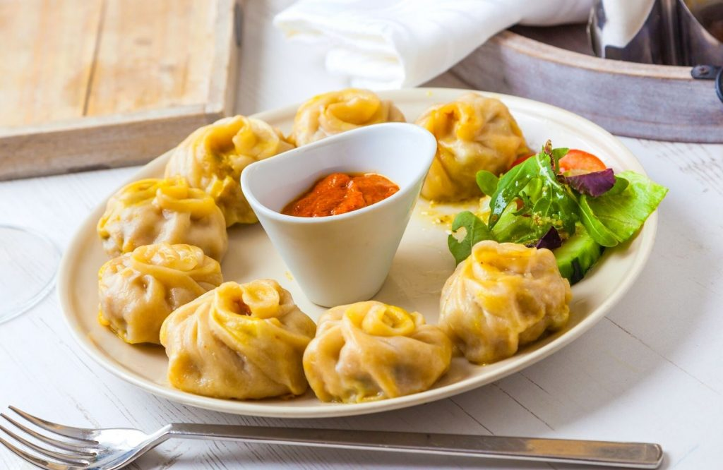 When trying Indian street food, you have to try Momos.