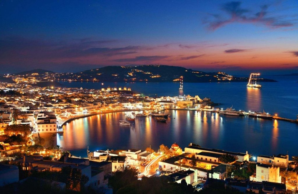 Don't decide between Santorini or Mykonos without considering the nightlife.