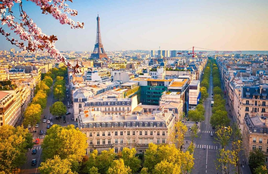 One of the most romantic cities in Europe is Paris.