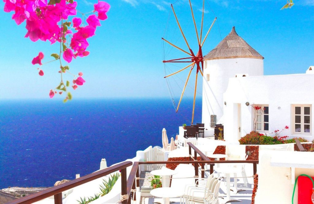 Both Santorini and Mykonos are equally expensive.