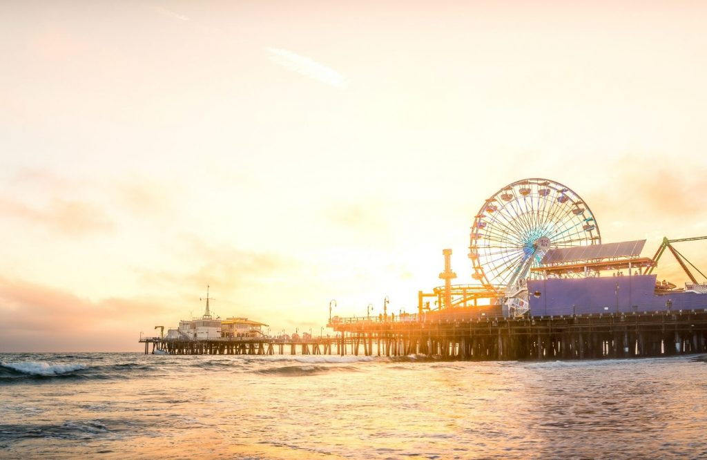 On your Route 66 attractions road trip, you'll end in Santa Monica.