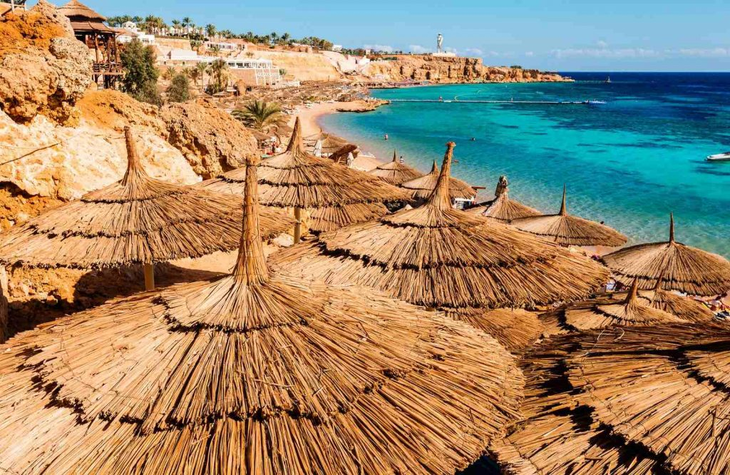One of the most unique places to add to your bucket list for couples is Sharm El Sheikh in Egypt.