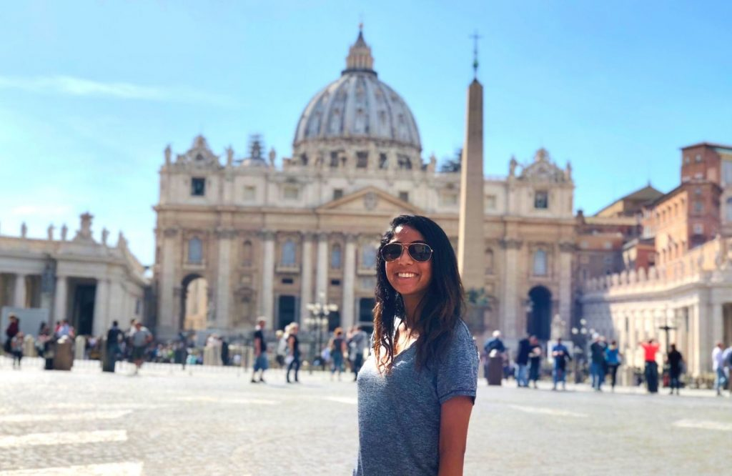 When visiting the Vatican, be sure to hang out at St. Peter's Square.