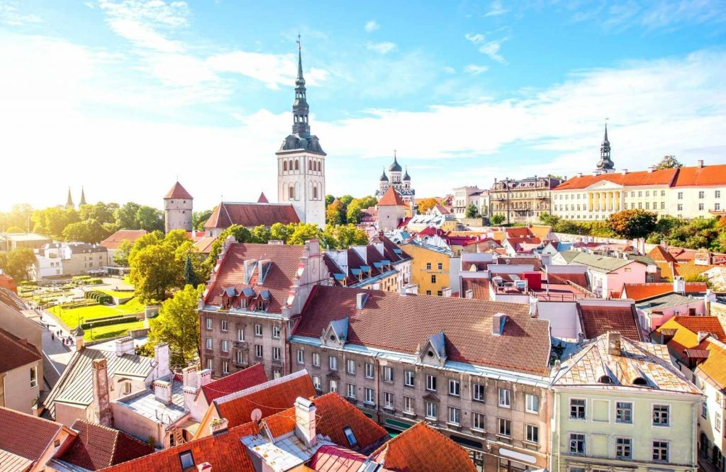 Tallinn is one of many beautiful and romantic cities in Europe.
