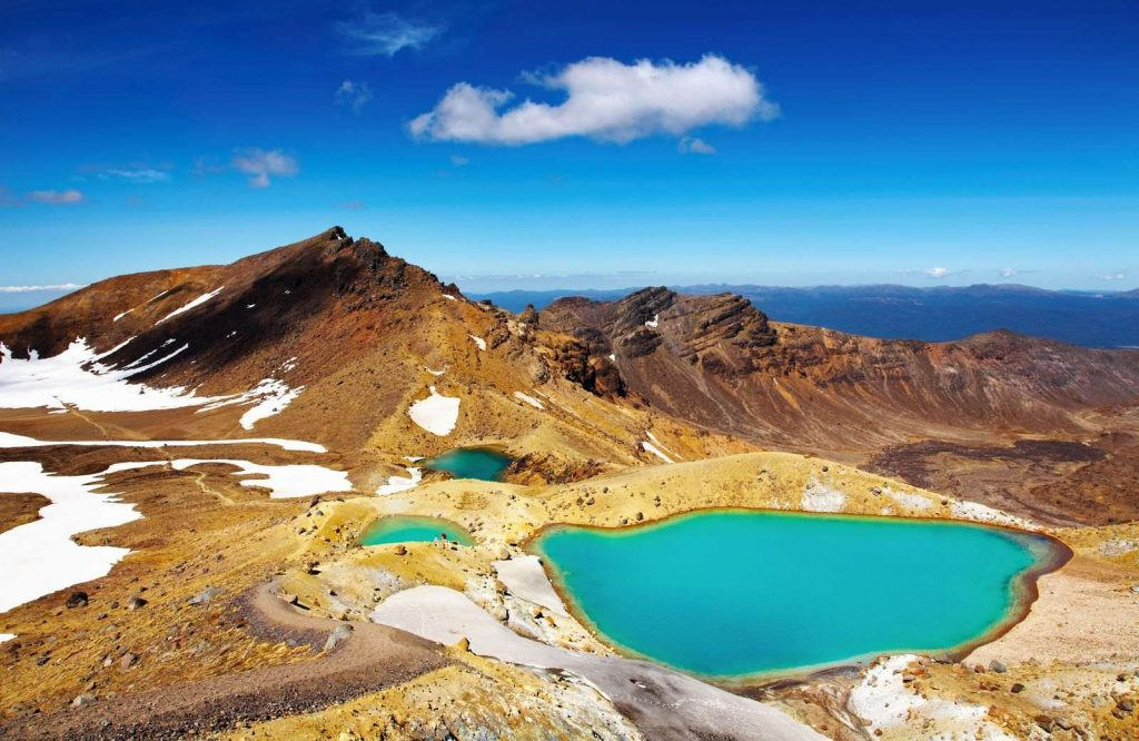 Tongariro National Park is one of several day trips from Auckland.