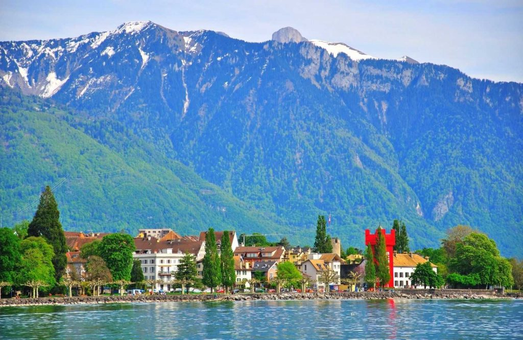 A quaint and romantic city in Europe is Vevey.