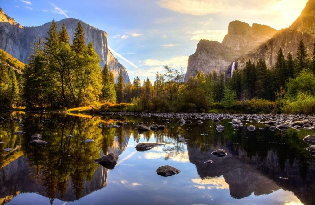 Yosemite is one of many awesome national parks on the West Coast.