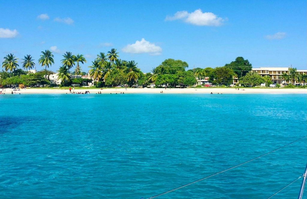 When you go on your vacation to Barbados, check out Carlisle Bay!