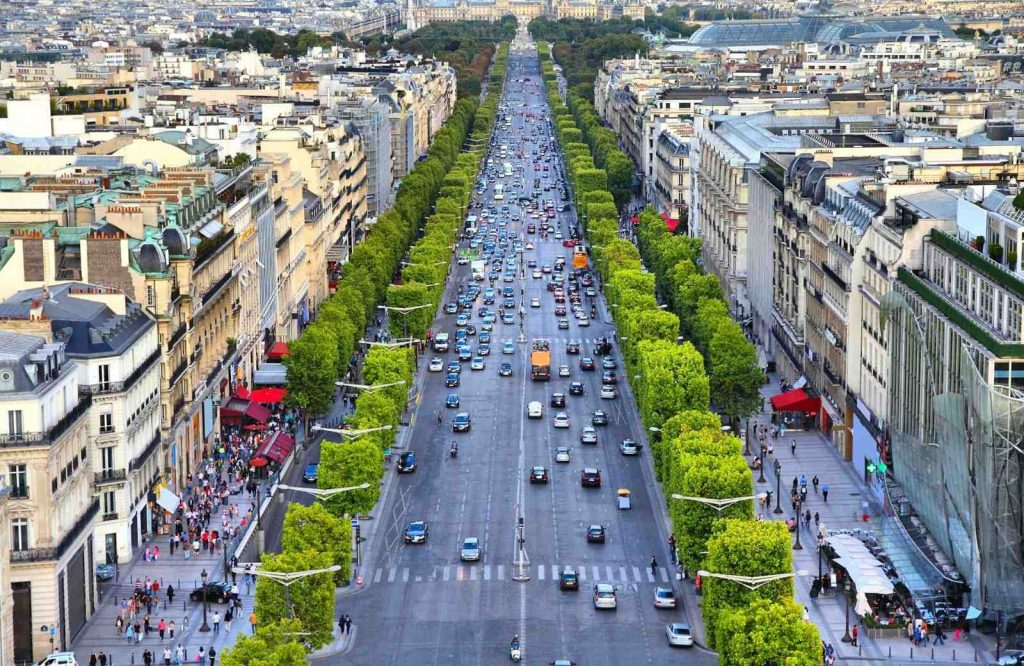 Discover Champs Elysees during your 3 days in Paris itinerary.
